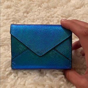 Blue Rebecca Minkoff Iridescent Wallet